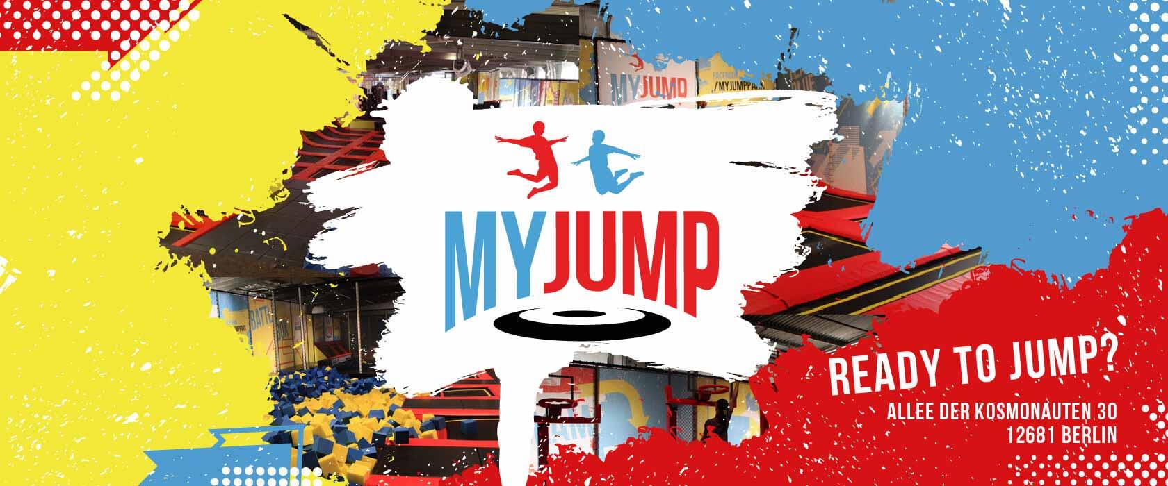 MYJUMP - der Trampolinpark Berlin - JUMP - Trampolinhalle